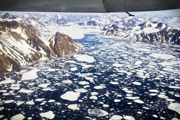 Kulusuk Icebergs, by Andrew Bossi