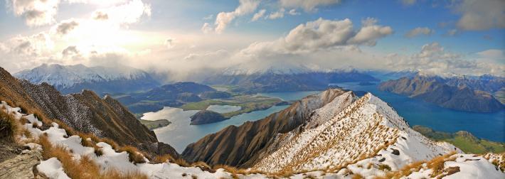 Mount Roy, Wanaka, New Zealand, by Steven Sandner