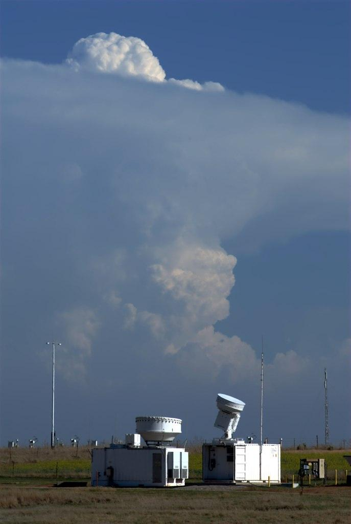Storms over the cloud radars during the Mid-latitude Continental Convective Clouds Experiment.