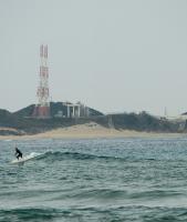 Surfing at Tanegashima Space Center