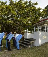 "JAXA ""Three Shrine Pilgrimage"" Ceremony"
