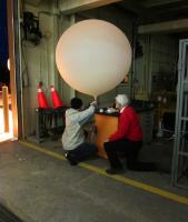 Preparing for Radiosonde Launch at GCPEx