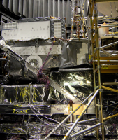 Removing the GPM Core Observatory from the Thermal Vacuum Chamber