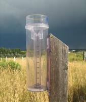 CoCoRAHS Rain Gauge Before Storm