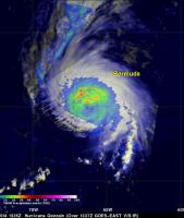 Powerful Hurricane Gonzalo Menacing Bermuda