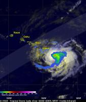 Tropical Storm Iselle Hits Hawaii