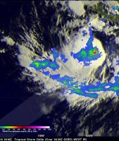 Tropical Storm Odile Forms