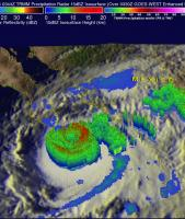 Hurricane Odile Strikes Baja California
