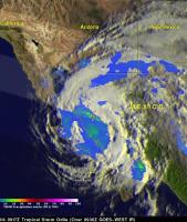 Baja California Battered And Drenched By Odile