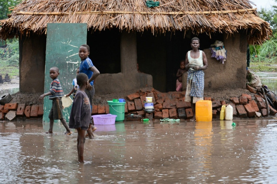 Rains began at the end of December and continued into January, flooding southeast Africa, including Malawi.