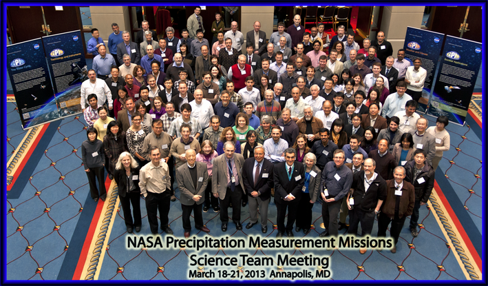 Group photo of the 2013 PMM Science Team