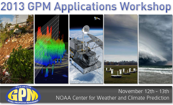 2013 GPM Applications Workshop