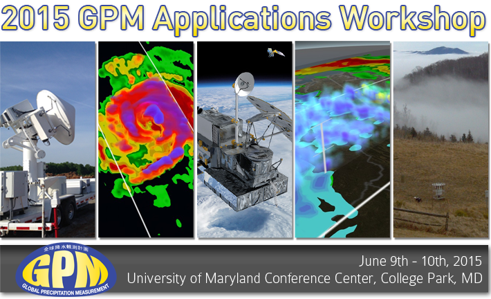 2015 GPM Applications Workshop