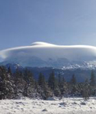 Cloud Hovering Over Mount Shasta, by Gerry Ramos