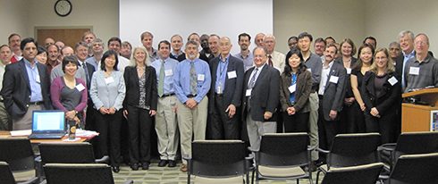 Scientists attending the 2nd NOAA User Meeting for GPM