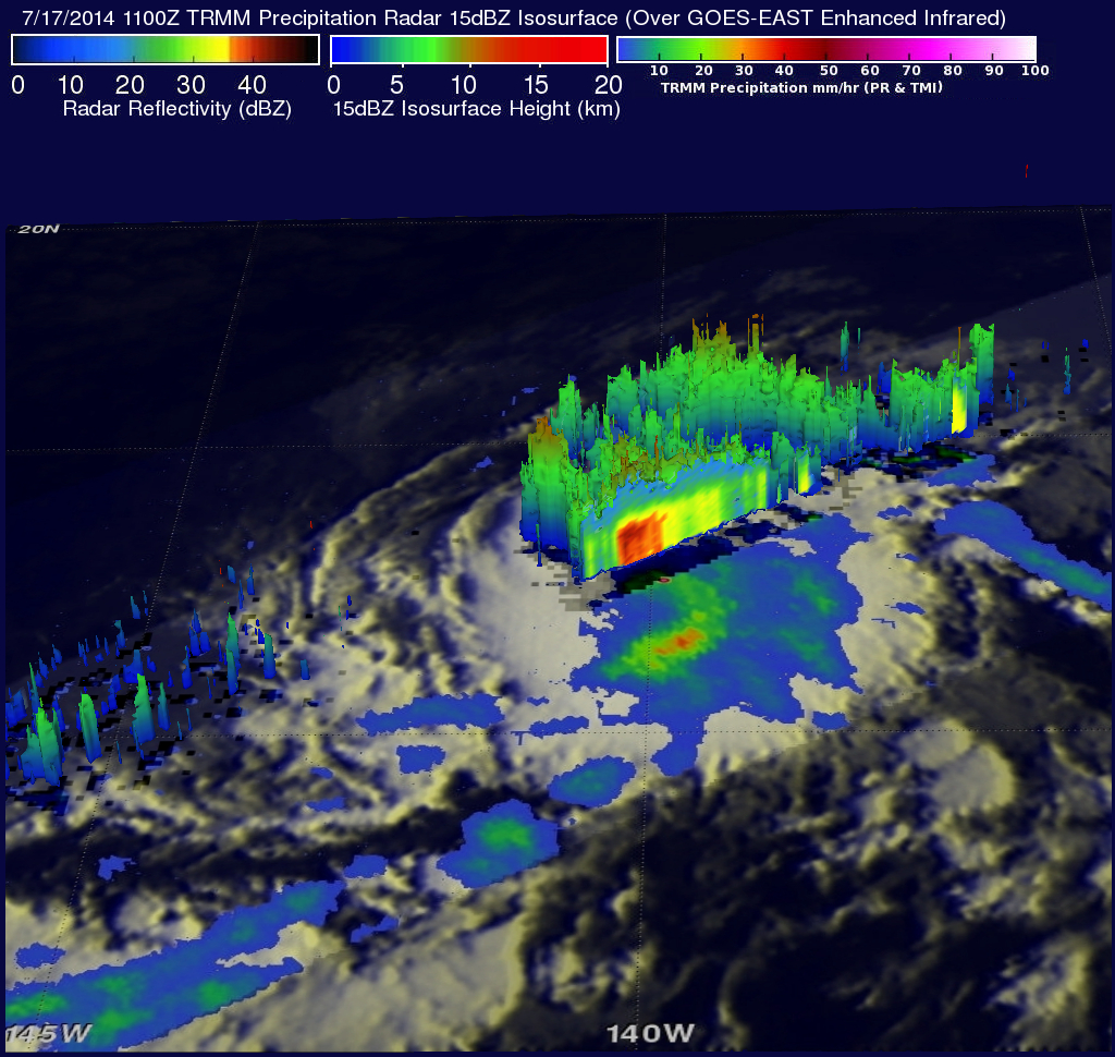 Potential Tropical Development Southeast Of Hawaii