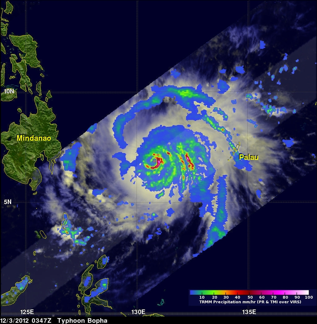 Typhoon Bopha Threatens Philippines
