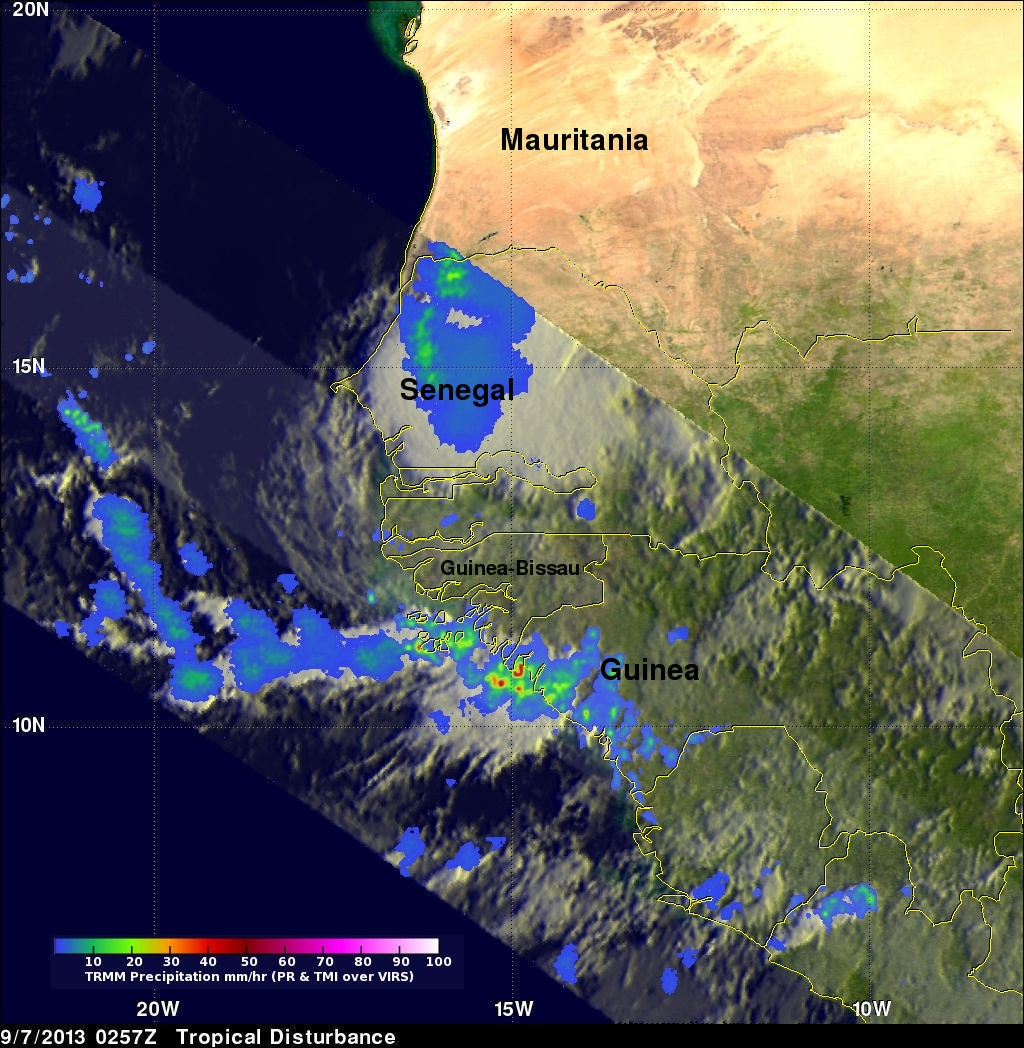 Potential Tropical Cyclone Development