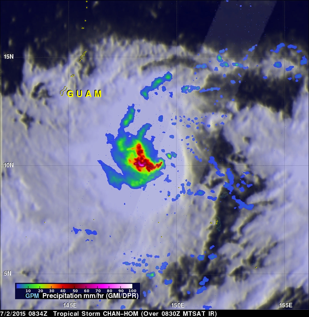 Two Future Typhoons Monitored By GPM