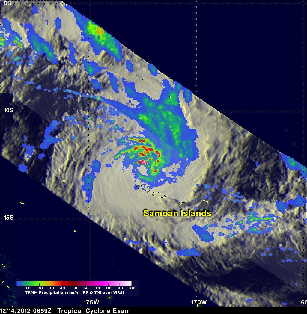 Category 3 Tropical Cyclone Evan