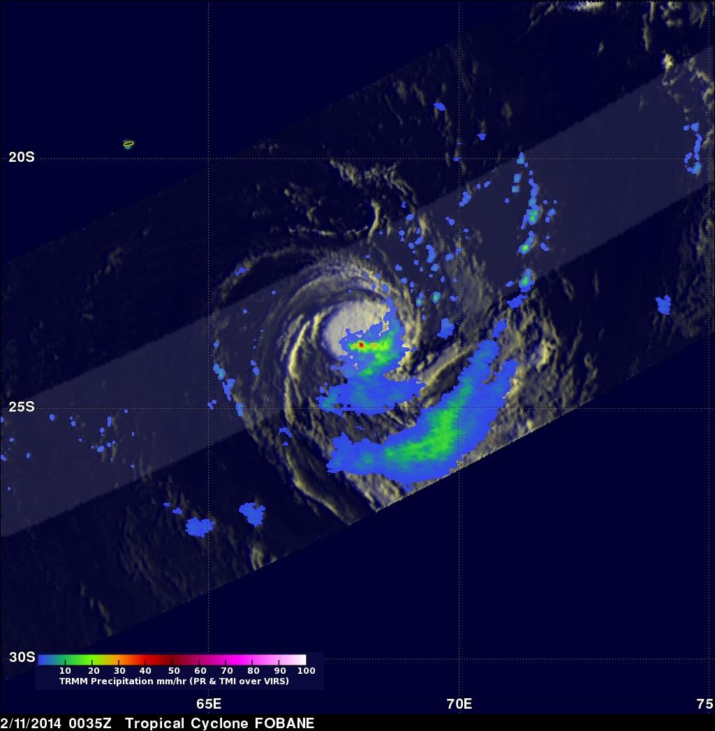 Tropical Cyclone Fobane