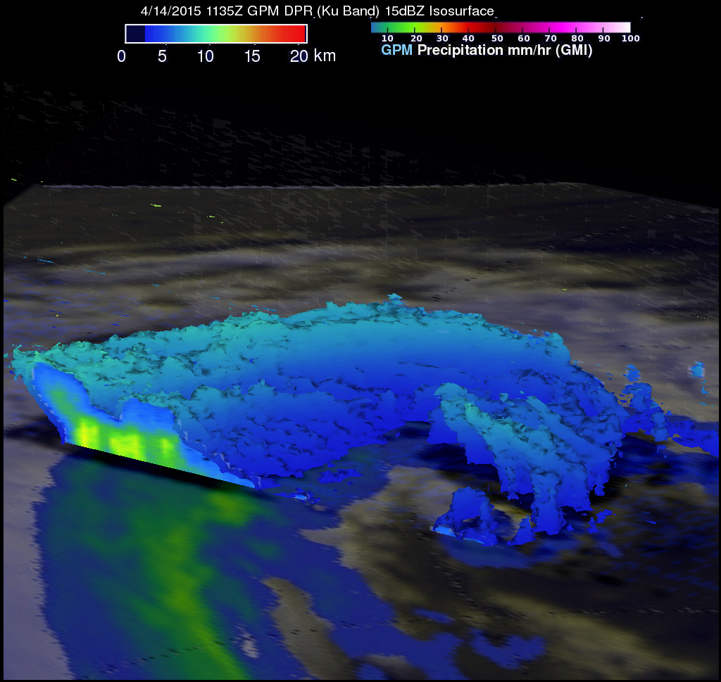 GPM Sees Remnants of Joalane