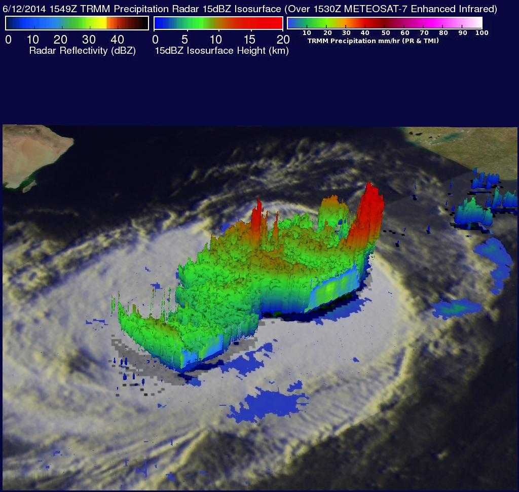 Arabian Sea Tropical Storm Nanauk