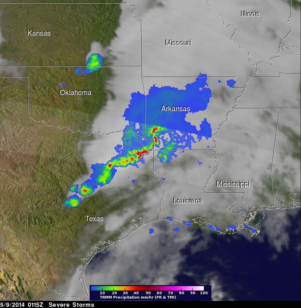 Spring Storms Hit Great Plains