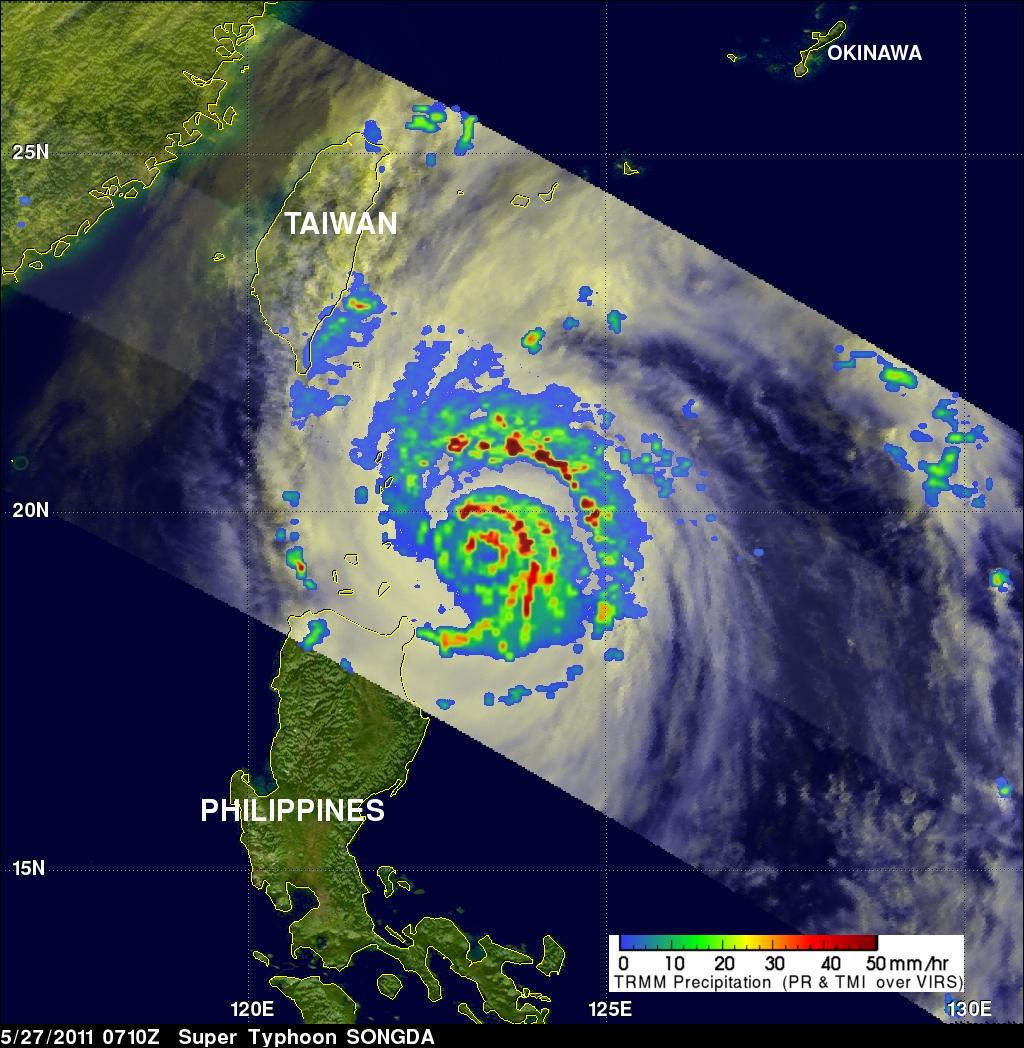 TRMM Image of Songda