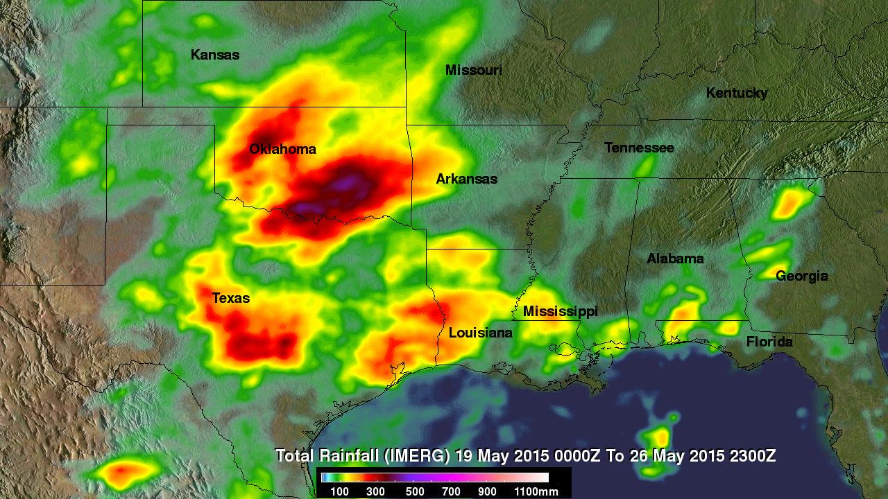 Severe Flooding Hits Central Texas, Oklahoma