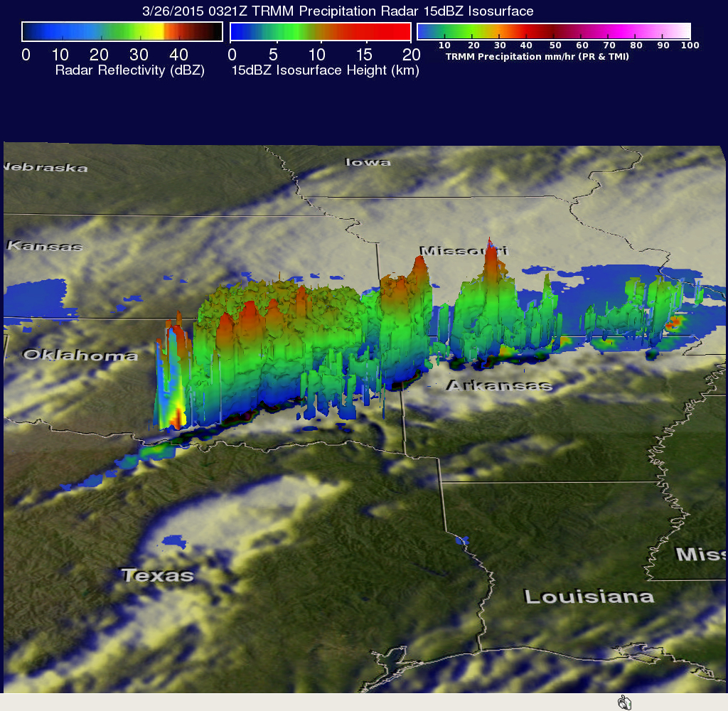 Tornadoes Hit Southwest