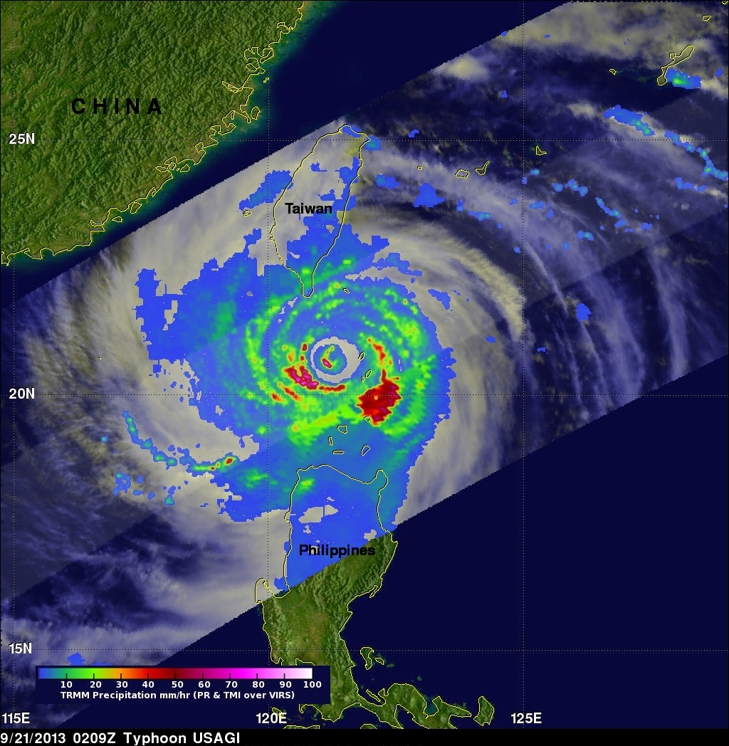 Typhoon USAGI Still Powerful