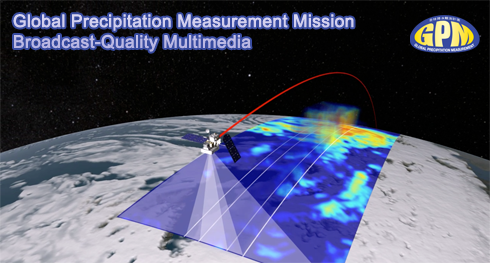 Global Preciptation Measurement Mission Broadcast-Quality Multimedia