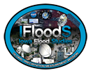 IFlooDS logo showing various precipitation measurement instruments