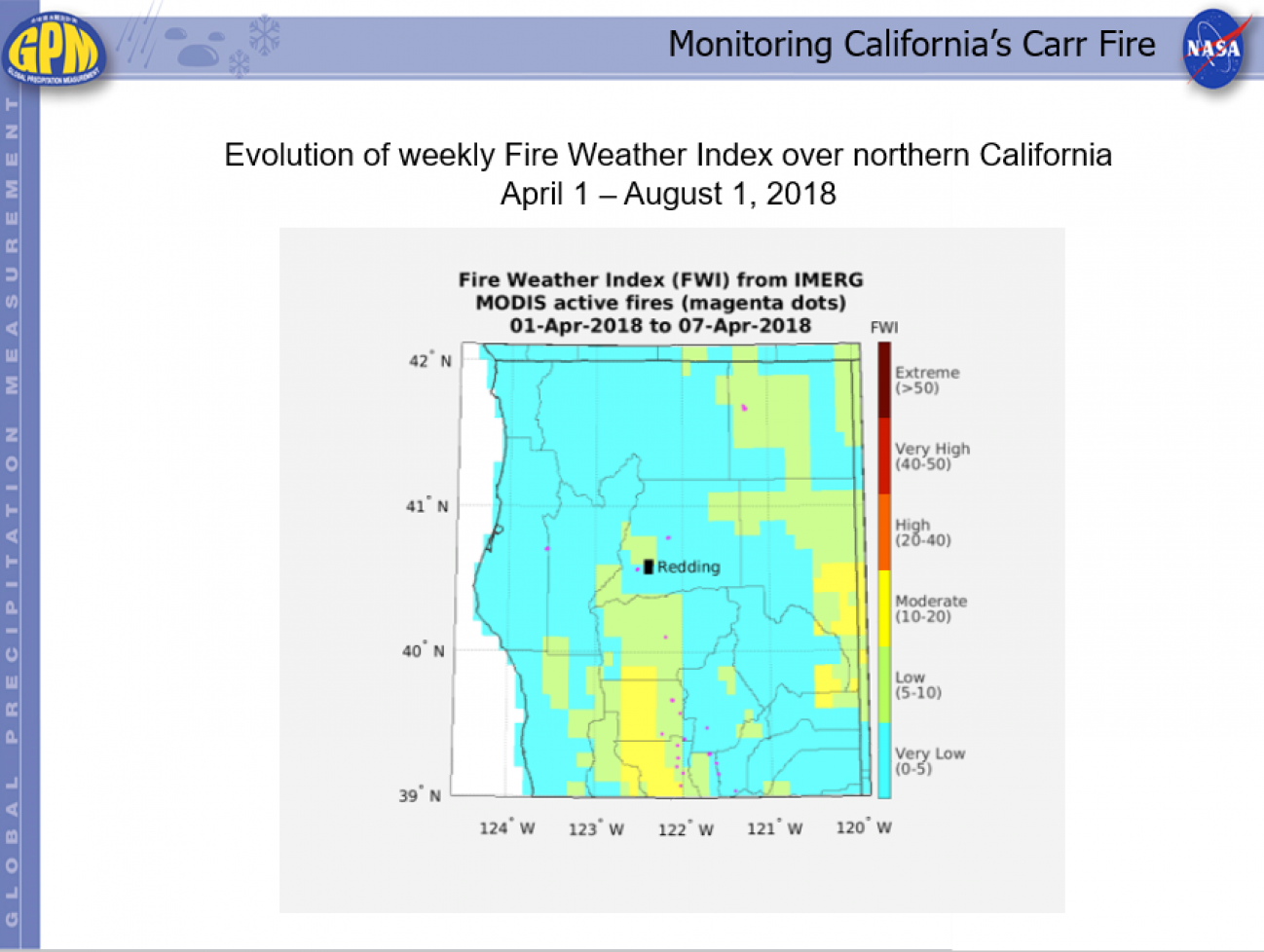 Monitoring California's Carr Fire