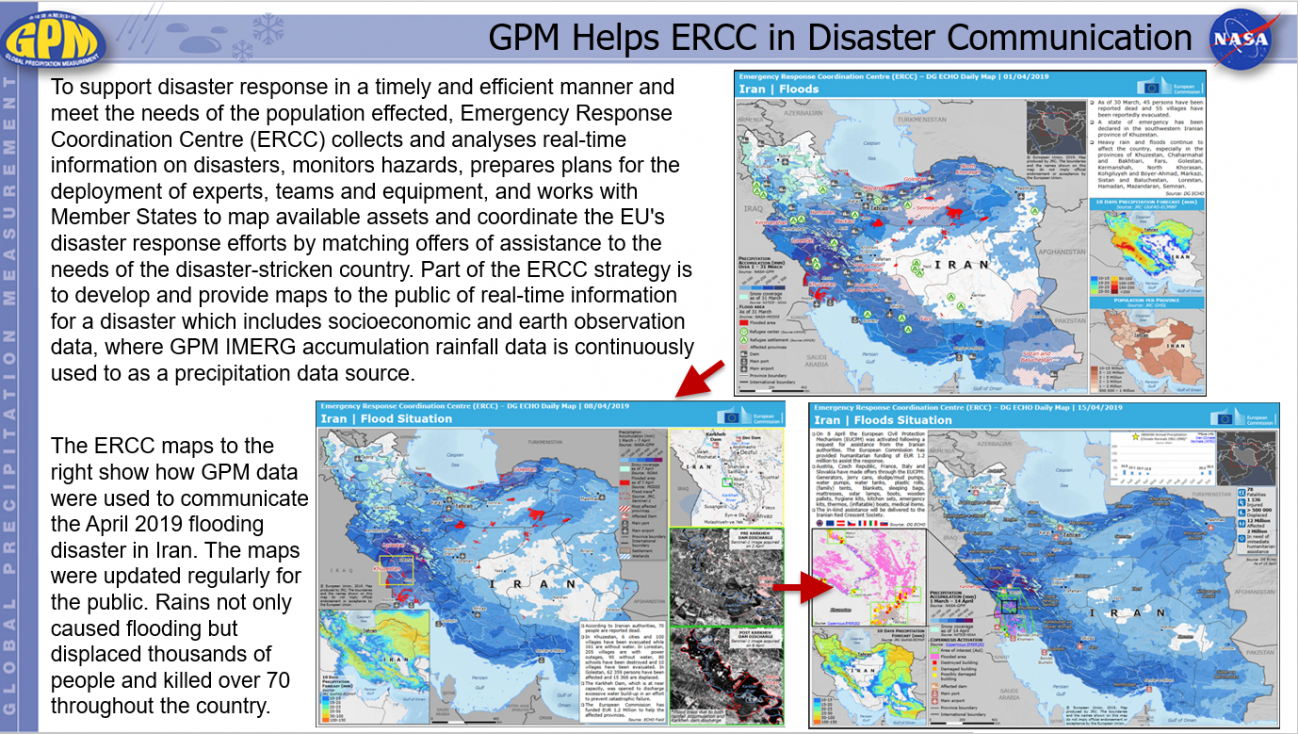 GPM Helps ERCC in Disaster Communication
