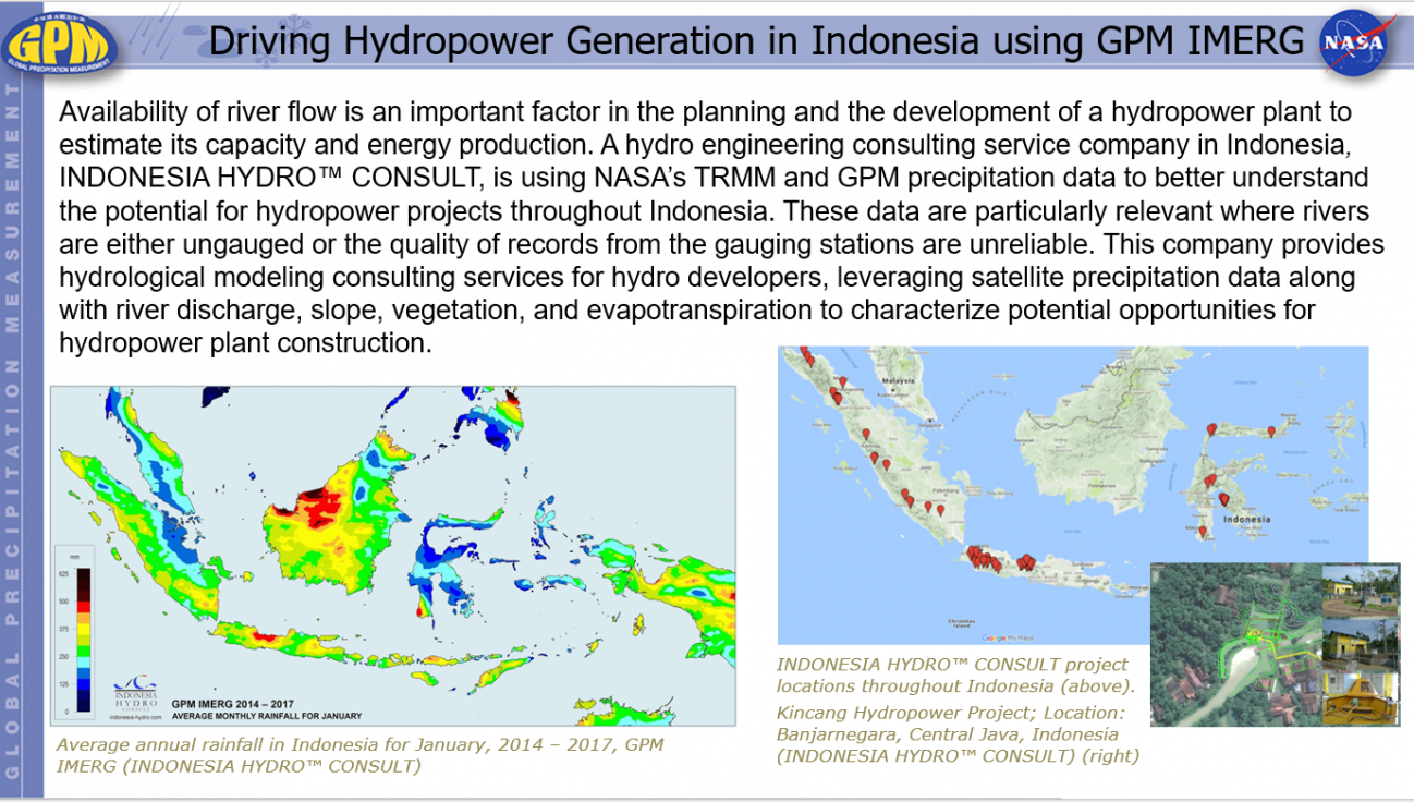 Driving Hydropower Generation in Indonesia using GPM IMERG