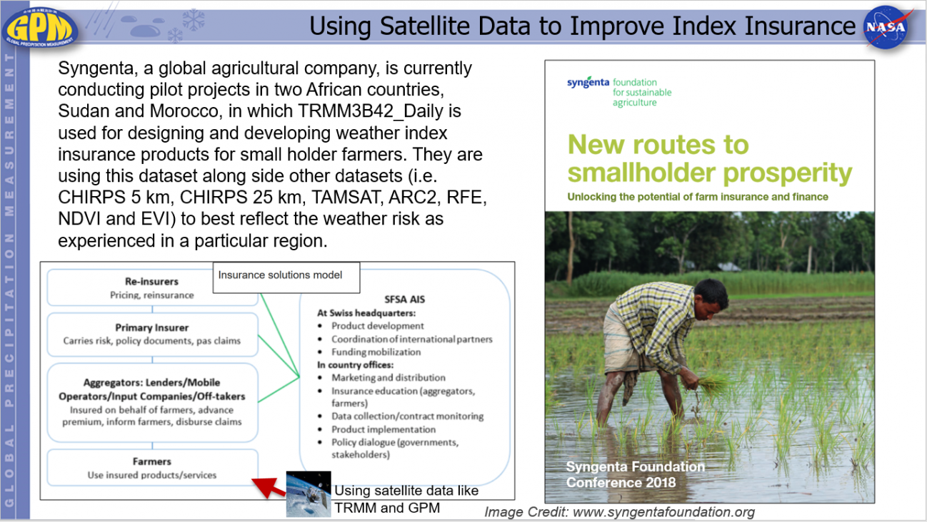 Using Satellite Data to Improve Index Insurance
