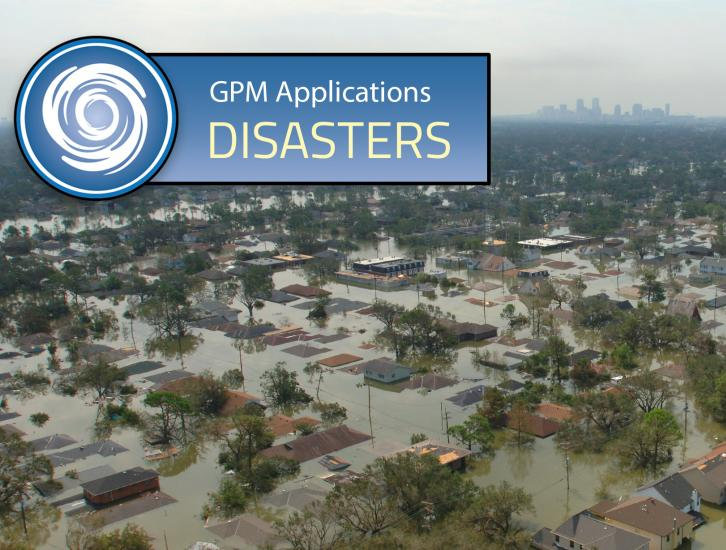 GPM Applications Banner: Disasters