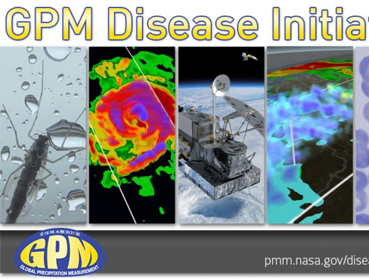 Banner for the GPM Disease Initiative