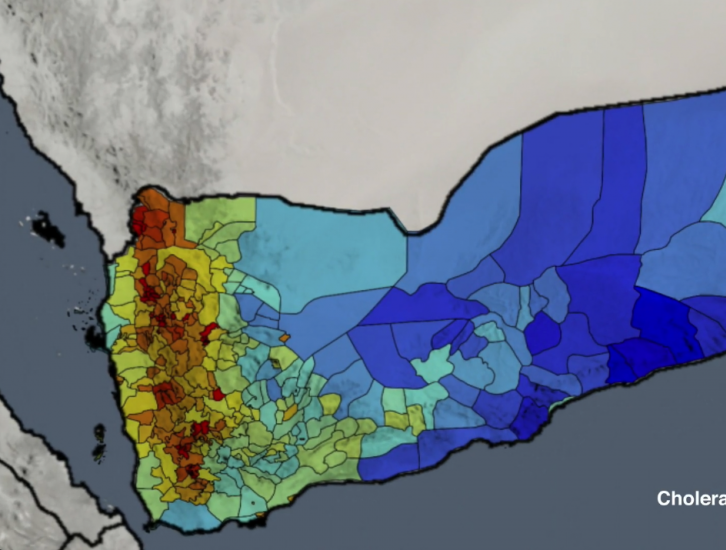 Using Precipitation Data to Track Cholera