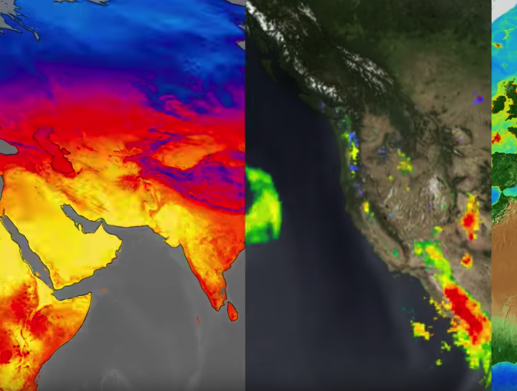 NASA Rainfall Data and Global Fire Weather