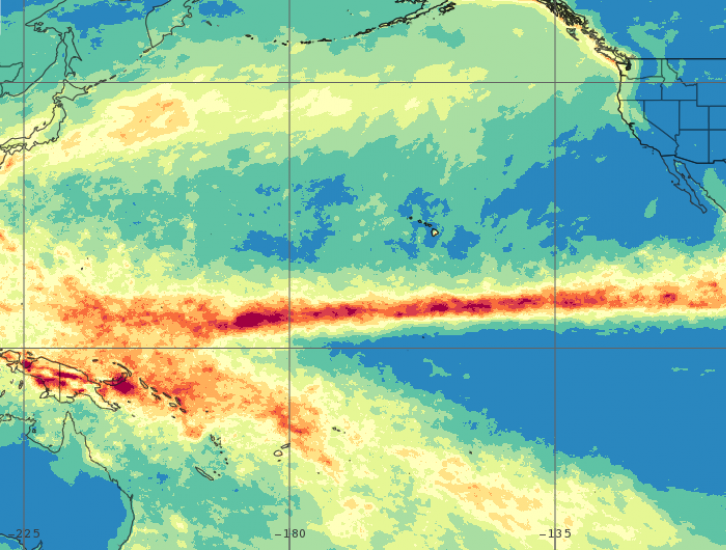 Observing the Intertropical Convergence Zone with IMERG