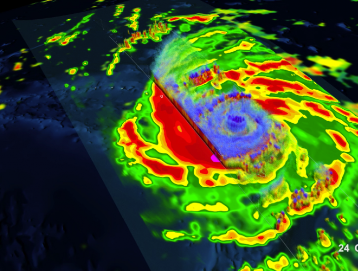 GPM Catches Typhoon Yutu Making Landfall