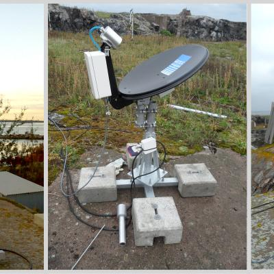 Various ground validation instruments, including the Parsivel Disdrometer in Finland, a Micro Rain Radar, and a Pluvio Snow guage