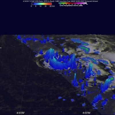 NASA Sees the Formation of Early Atlantic Ocean Tropical Depression 1
