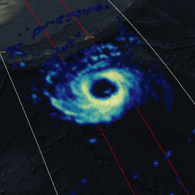 GPM Views Cat. 2 Typhoon Trami Moving Towards Japan