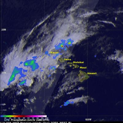 GPM Data Used to Evaluate Hawaii's Flooding Rainfall