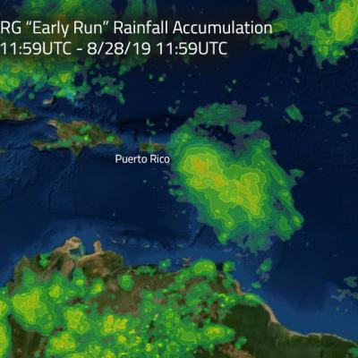 GPM IMERG Measures Rainfall Accumulation from Hurricane Dorian in the Caribbean