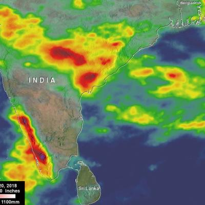 GPM Captures Monsoon Rains Bringing Flooding to India